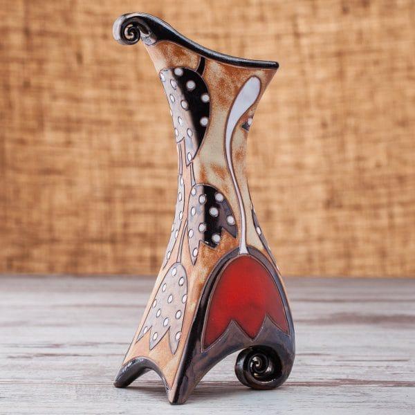 Керамична ваза Лале