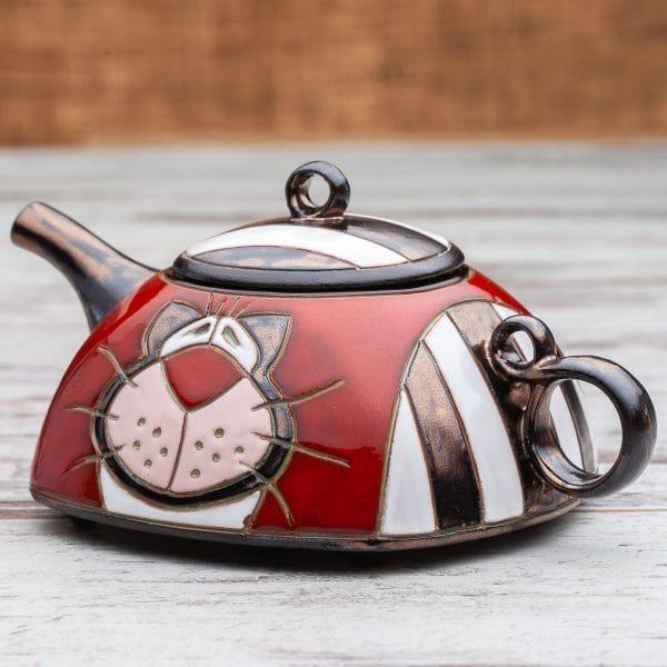 Керамични чайници Котка рае
