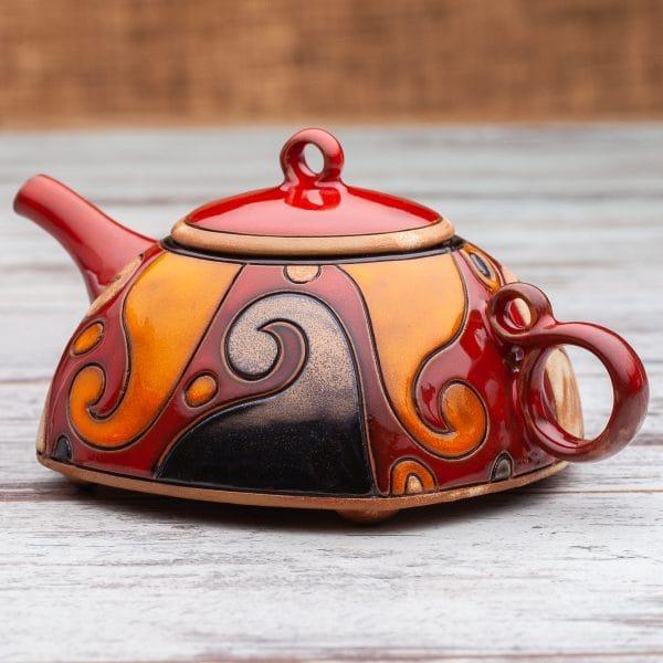 Керамични чайници Вълни