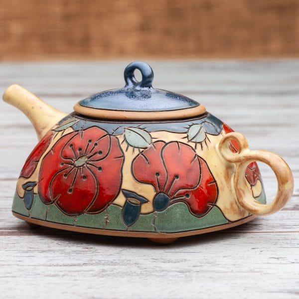Керамични чайници Макове
