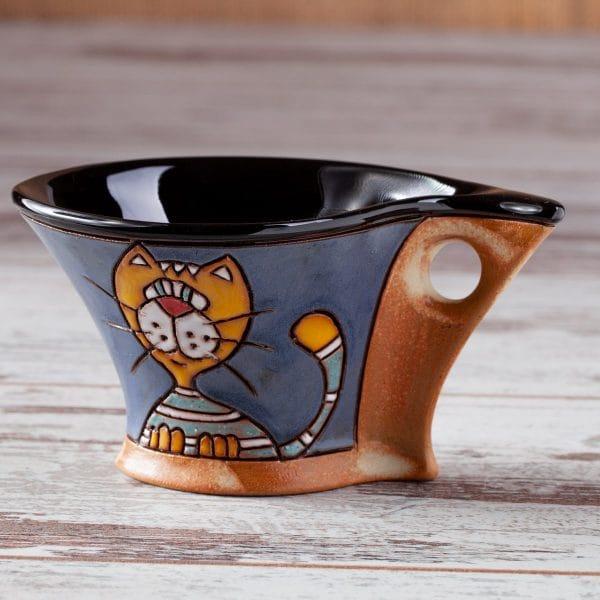 Керамична чаша Котки портрет