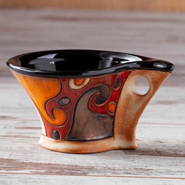 Керамична чаша Вълни