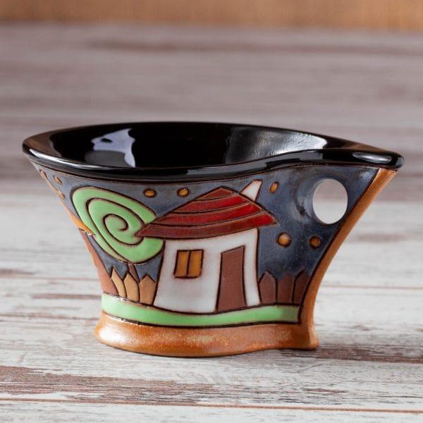Керамична чаша Къщички