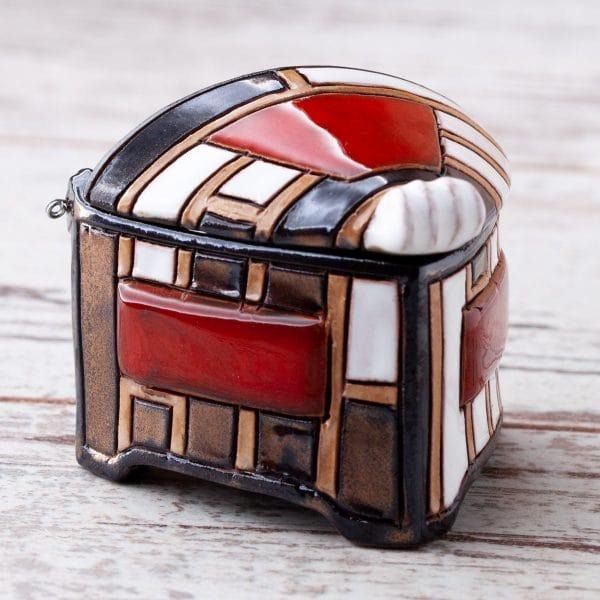 Керамична кутийка Пиано