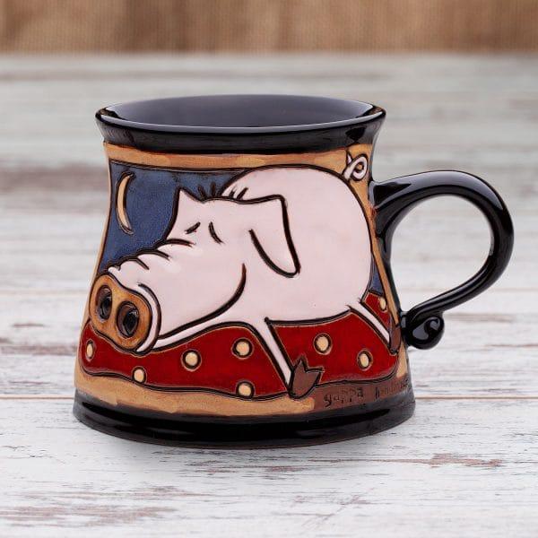 Керамична чаша Спящото прасенце