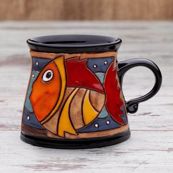 Керамична чаша Златната рибка