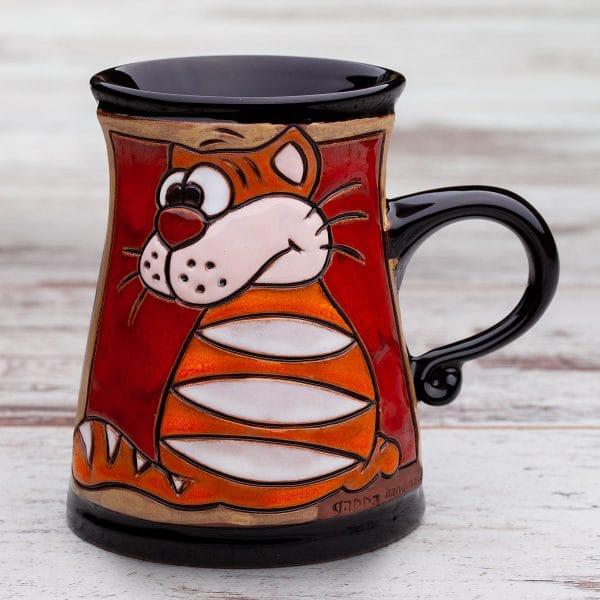 Керамична чаша Котето Гарфилд