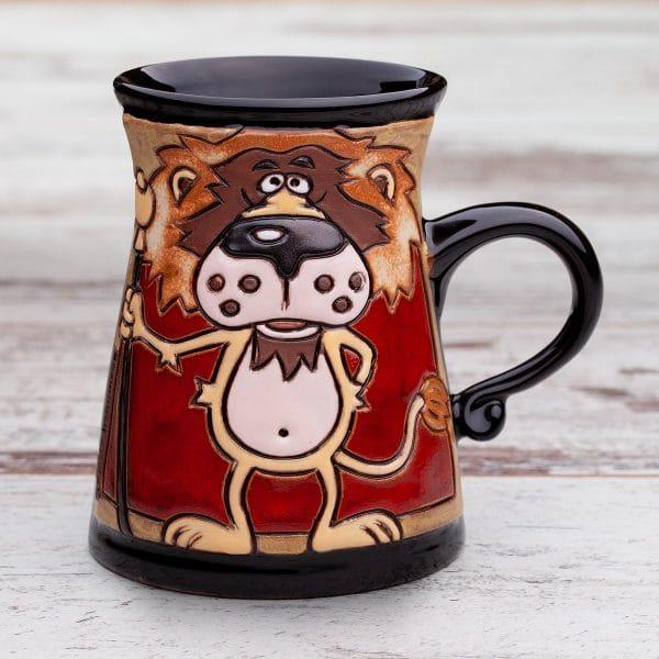 Керамична чаша Царския лъв