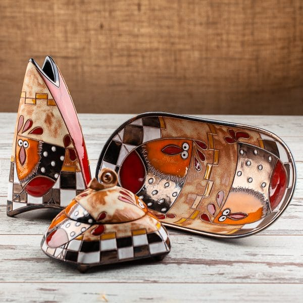 Комплект Кокошка на шахматна дъска
