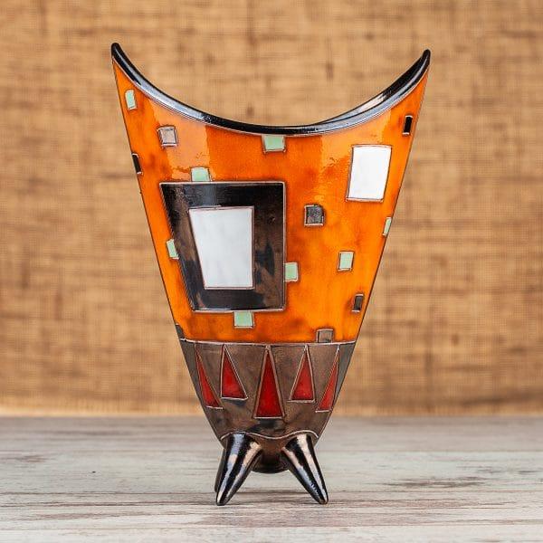 Ръчно изработена керамична ваза