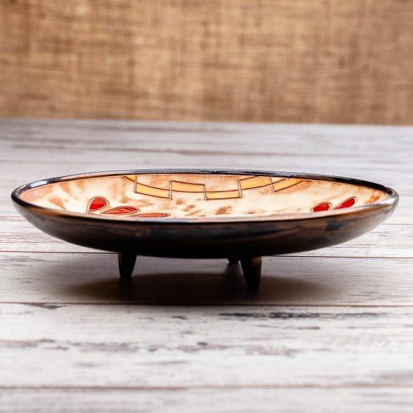Керамична кръгла фруктиера