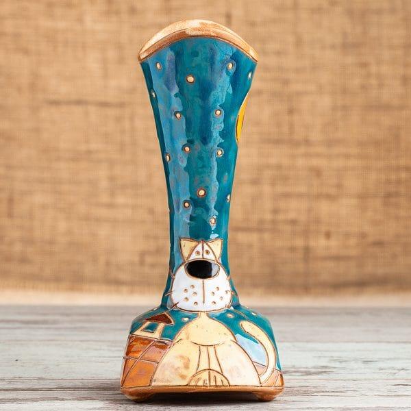 Керамична ваза ръчна изработка
