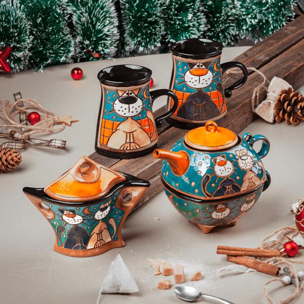 Семеен комплект Щастлива Коледа идеи за подаръци за нова година