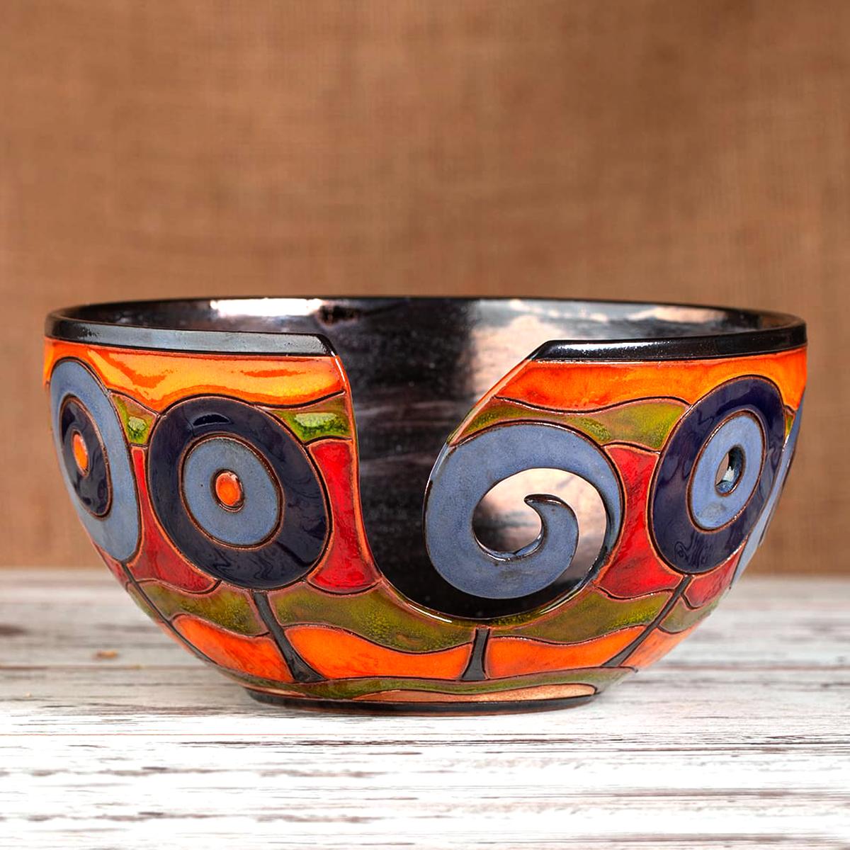 керамична купа за прежда